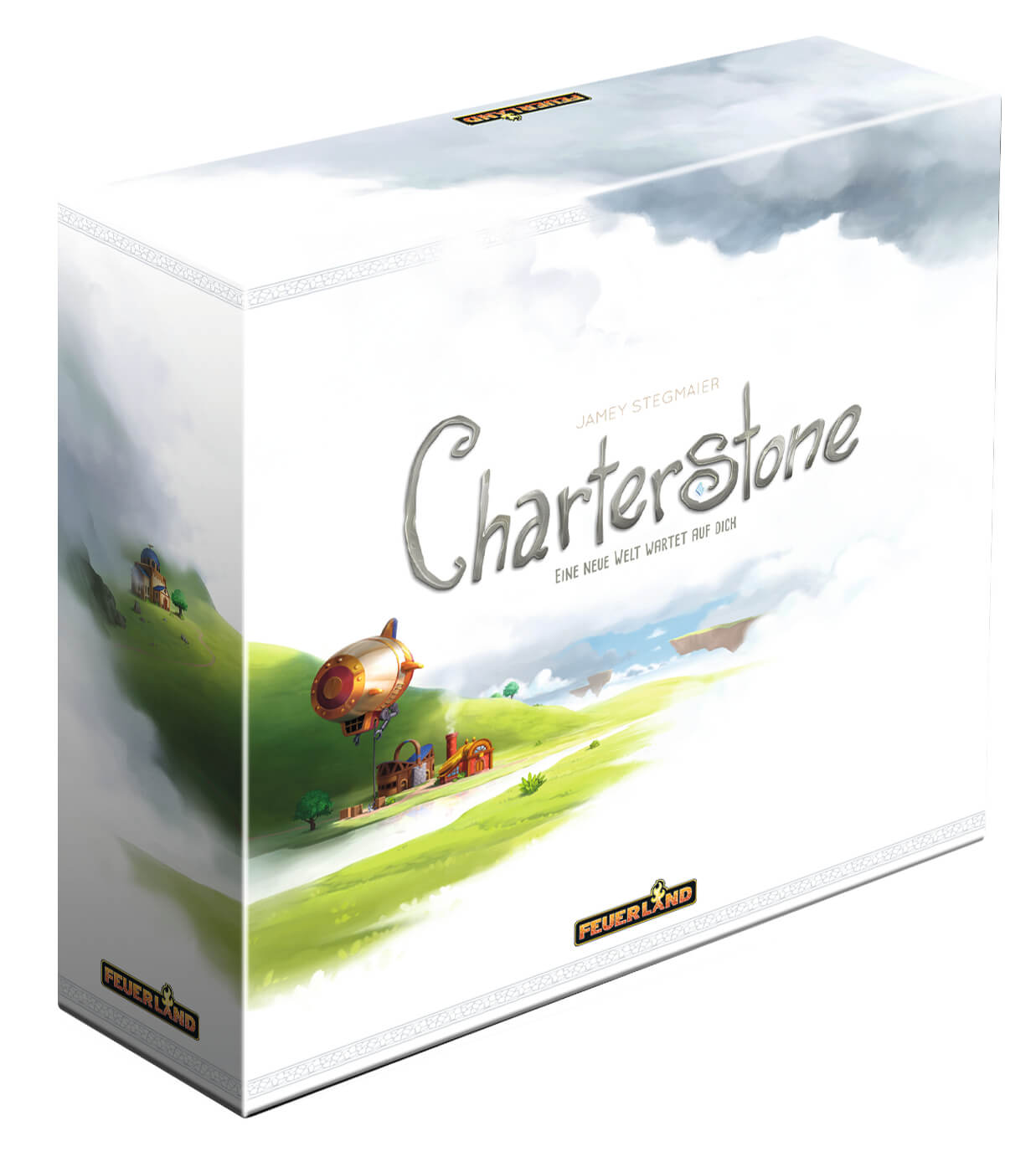 Schachtel Vorderseite- Charterstone