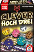 Spielkarton - Clever hoch drei