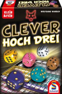 Spielkarton- Clever hoch drei