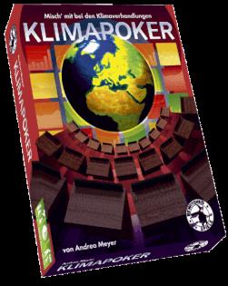 Schachtel Vorderseite- Klimapoker