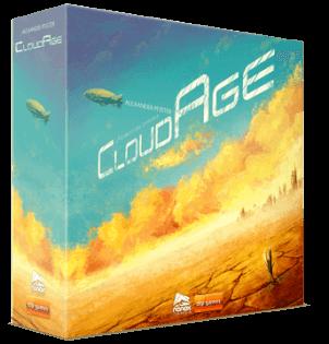 Schachtel Vorderseite- Cloud Age