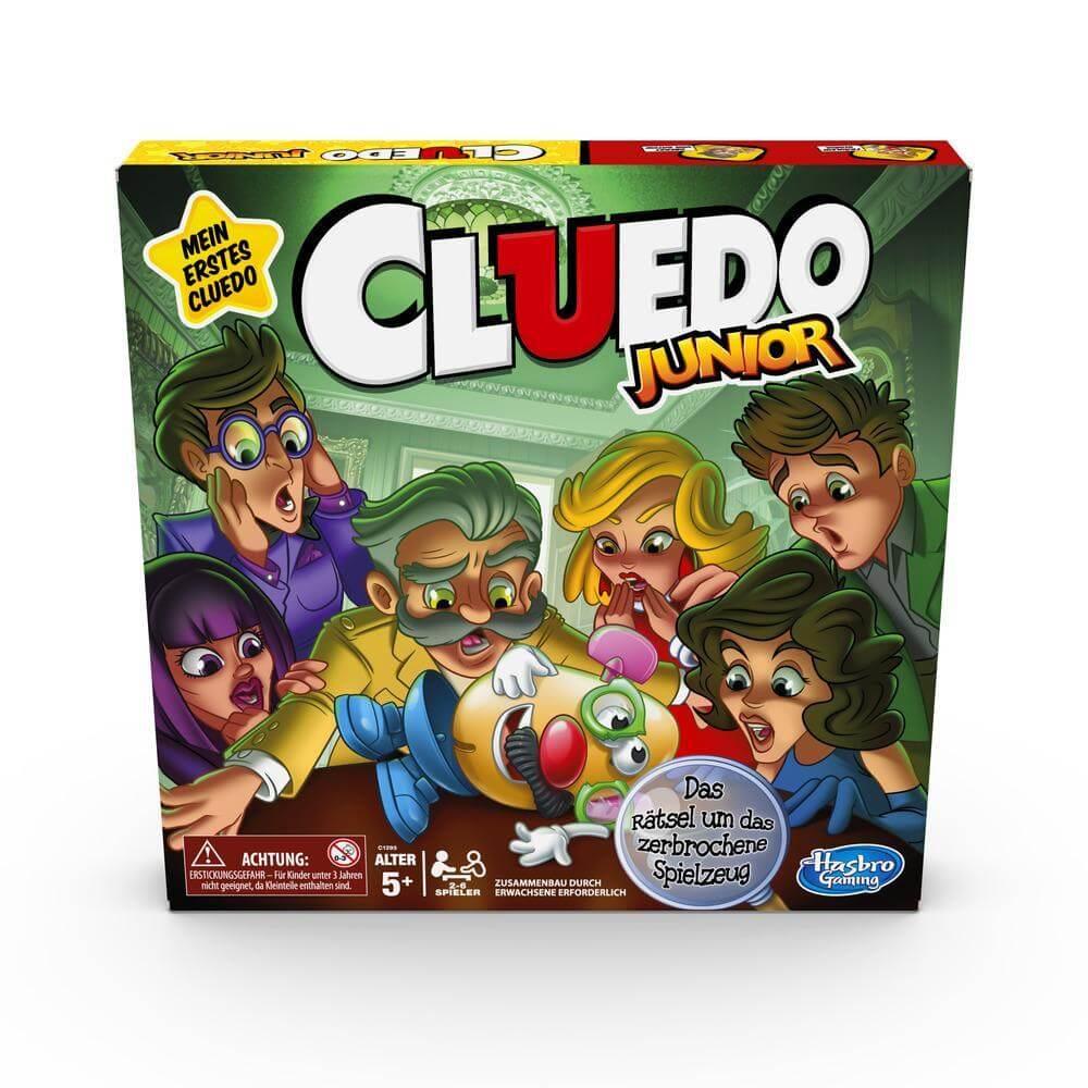 Schachtel Vorderseite- Cluedo Junior
