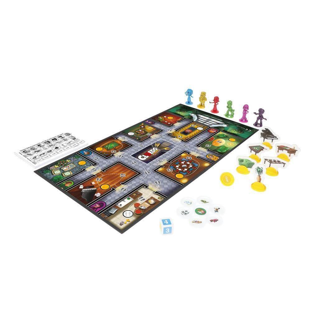 Spielmaterial- Cluedo Junior