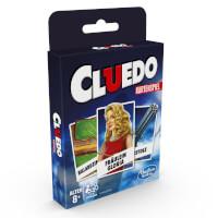 Schachtel Vorderseite - Cluedo - Kartenspiel