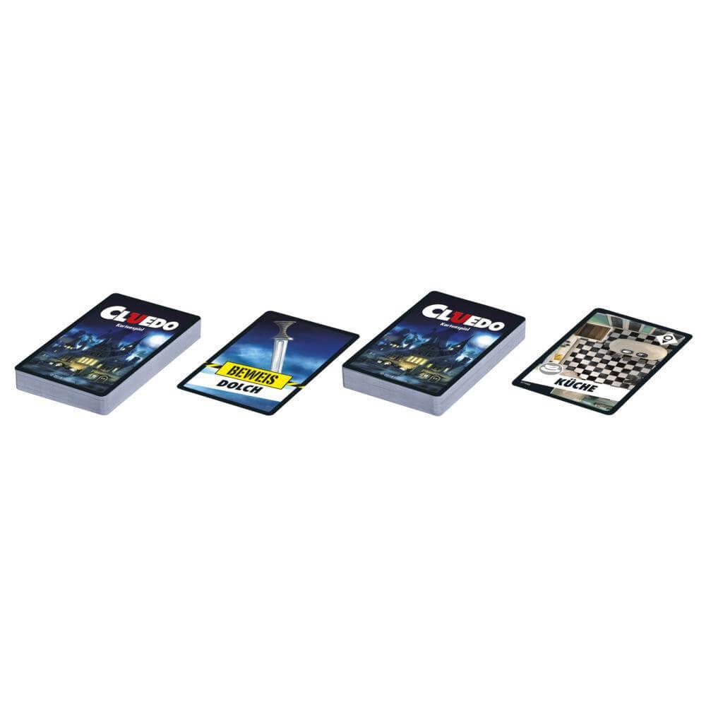 Spielkarten- Cluedo - Kartenspiel