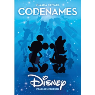 Schachtel Vorderseite- Codenames Disney