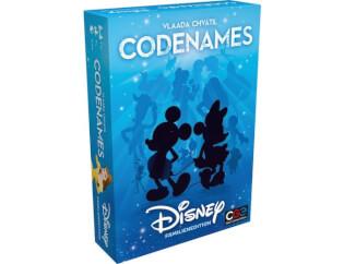 Schachtel Vorderseite, rechte Seite- Codenames Disney