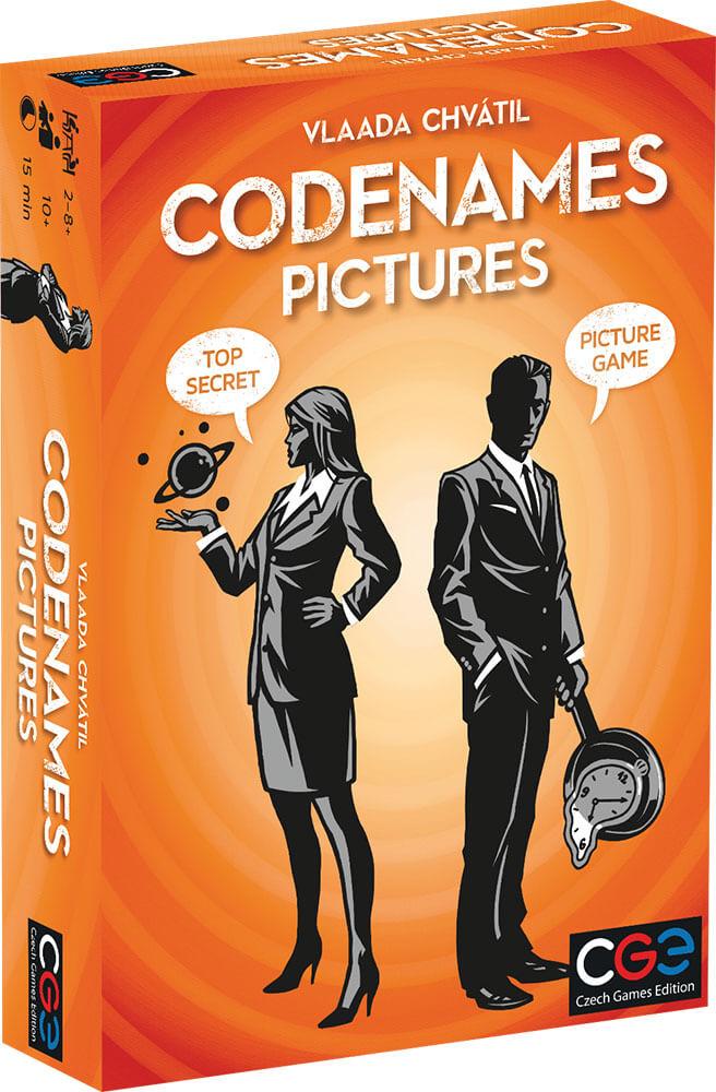 Schachtel Vorderseite- Codenames Pictures