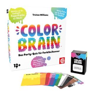 Schachtel und Spielmaterial- Color Brain