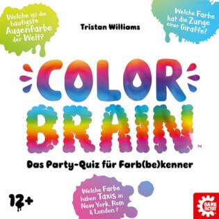 Schachtel Vorderseite- Color Brain