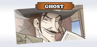 Spielkarte Ghost- Colt Express - Bandits Ghost