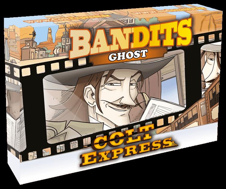 Schachtel Vorderseite- Colt Express - Bandits Ghost