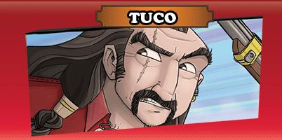 Spielkarte Tuco- Colt Express - Bandits Tuco