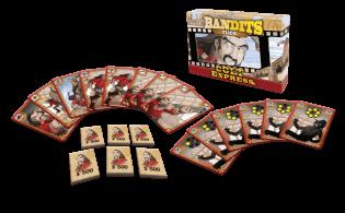 Spielmaterial - Spielkarten und Geldchips- Colt Express - Bandits Tuco