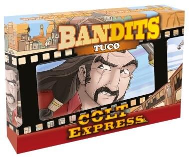 Schachtel Vorderseite- Colt Express - Bandits Tuco