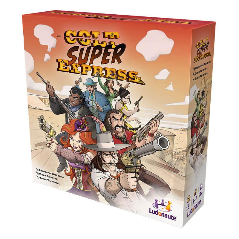 Schachtel Vorderseite- Colt Super Express