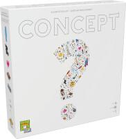 Schachtel Vorderseite - nominiert zum Spiel des Jahres 2014 - Concept