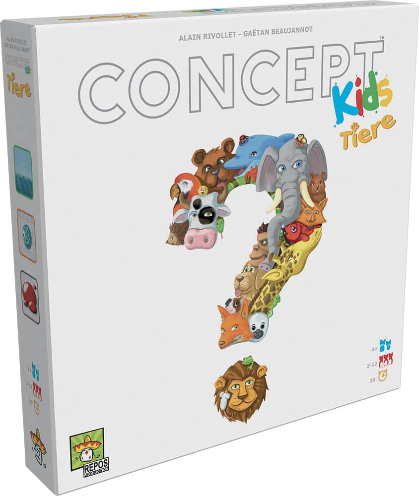 Schachtel Vorderseite- Concept Kids - Tiere
