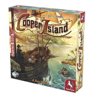 Schachtel Vorderseite, rechte Seite- Cooper Island