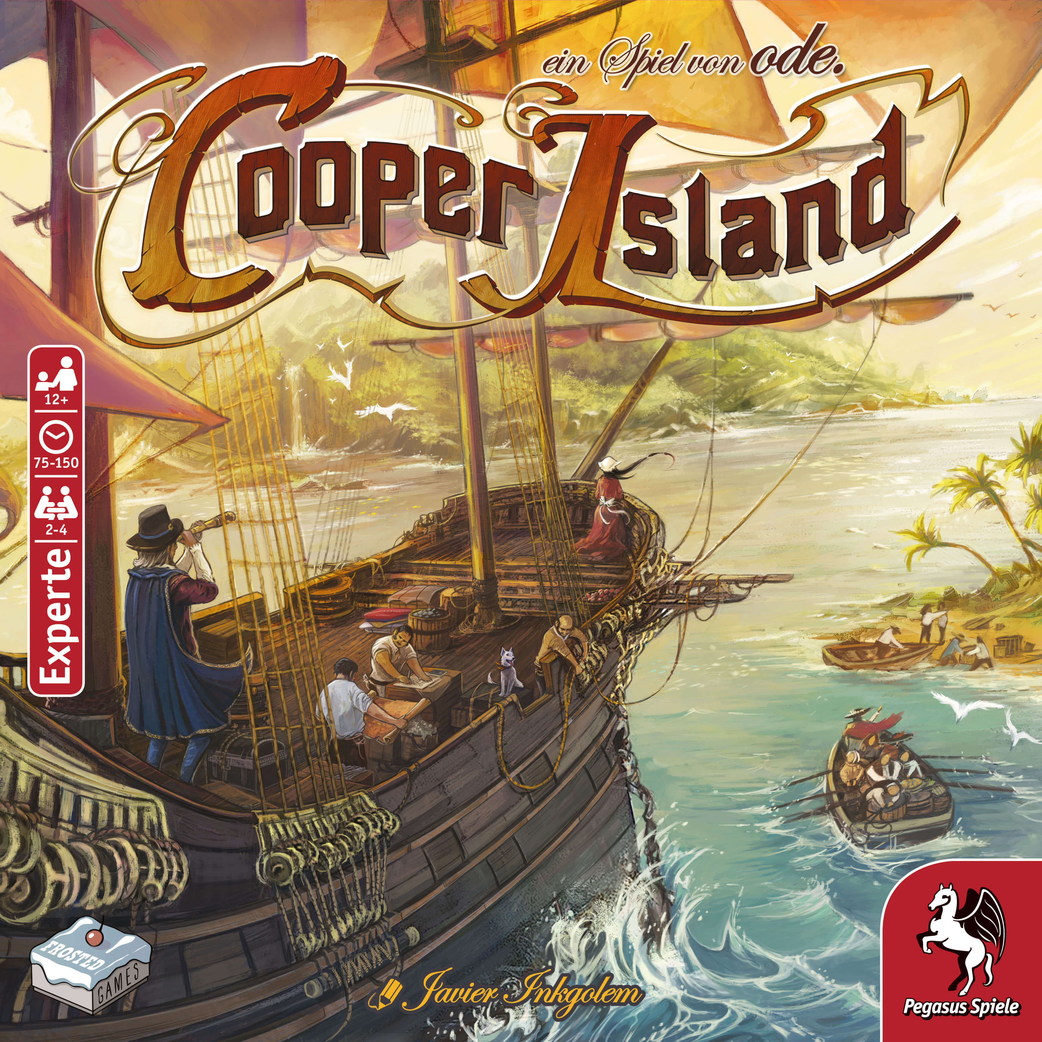 Schachtel Vorderseite- Cooper Island