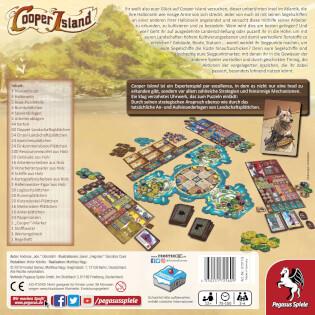 Schachtel Rückseite- Cooper Island