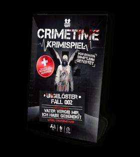 Schachtel Vorderseite- Crimetime - Fall 002 - Vater vergib mir, ich habe gesündigt