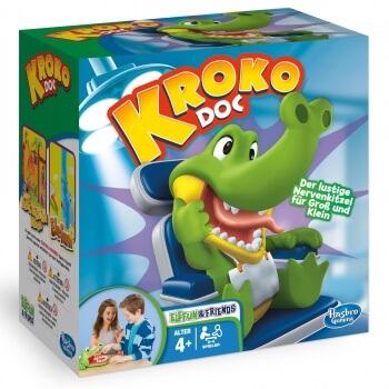 Schachtel Vorderseite- Kroko Doc