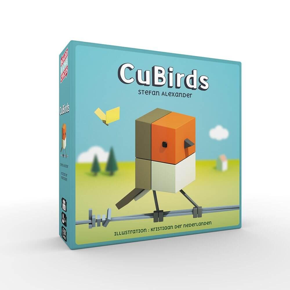 Schachtel Vorderseite- CuBirds
