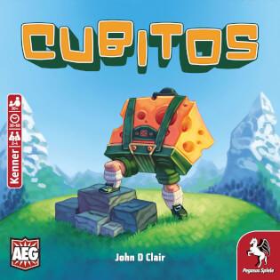 Schachtel Vorderseite- Cubitos