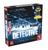 Schachtel Vorderseite rechts - Detective – Ein Krimi-Brettspiel