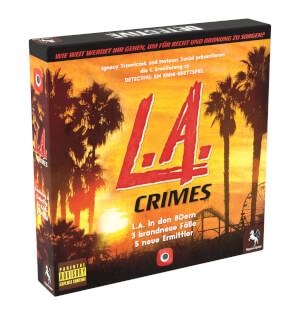 Schachtel Vorderseite links- Detective: L.A. Crimes