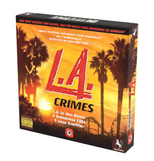 Schachtel Vorderseite rechts- Detective: L.A. Crimes