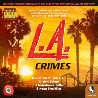 Schachtel Vorderseite- Detective: L.A. Crimes