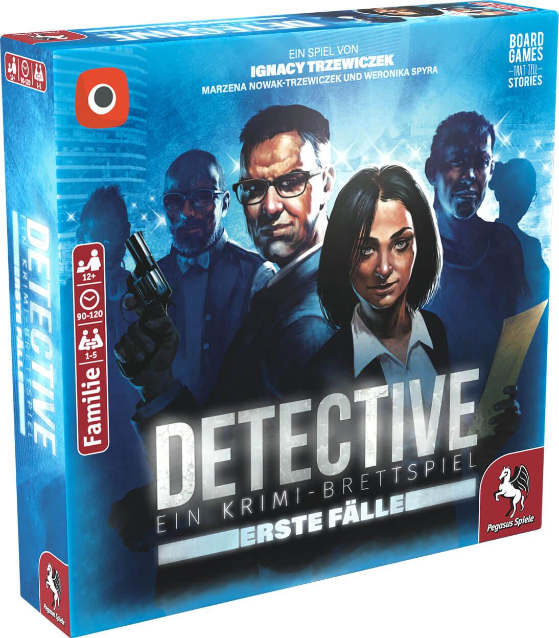 Schachtel Vorderseite links- Detective – Erste Fälle