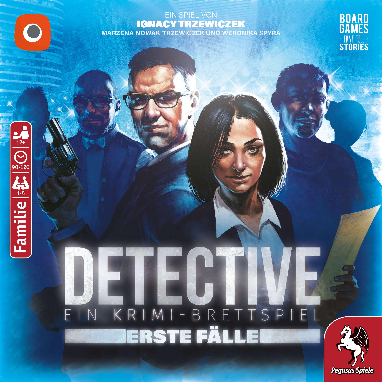 Schachtel Vorderseite- Detective – Erste Fälle