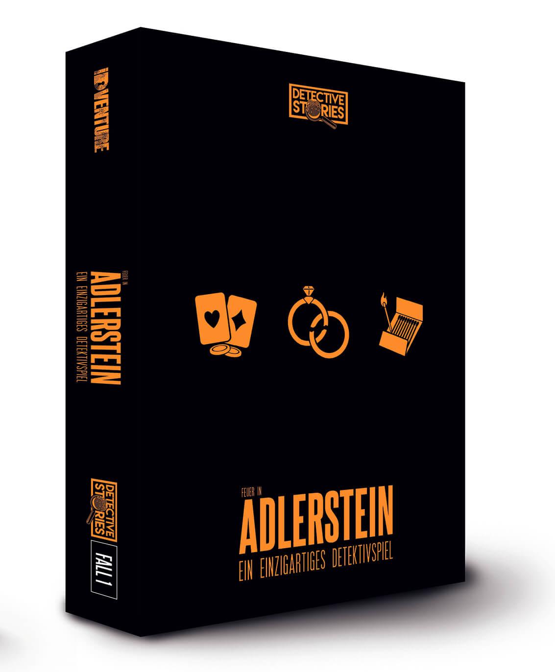 - Detective Stories - Das Feuer in Adlerstein