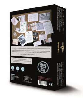 Schachtel Rückseite- Detective Stories - Antarktis Fatale