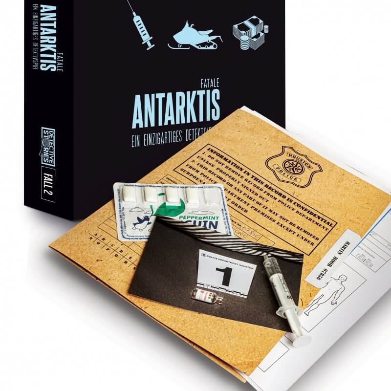 Spielmaterial- Detective Stories - Antarktis Fatale