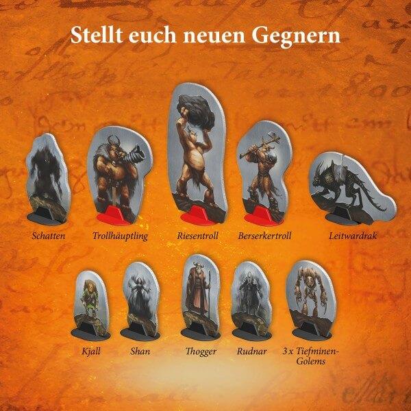 Spielfiguren- Die Legenden von Andor – Verschollene Legenden: Düstere Zeiten