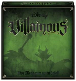 Schachtel Vorderseite- Disney Villainous