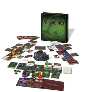 Schachtel und Spielmaterial- Disney Villainous