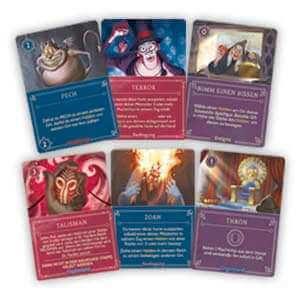 Spielkarten- Disney Villainous