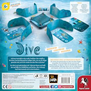 Schachtel Rückseite- Dive