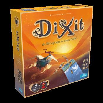 Schachtel Vorderseite - Spiel des Jahres 2010- Dixit