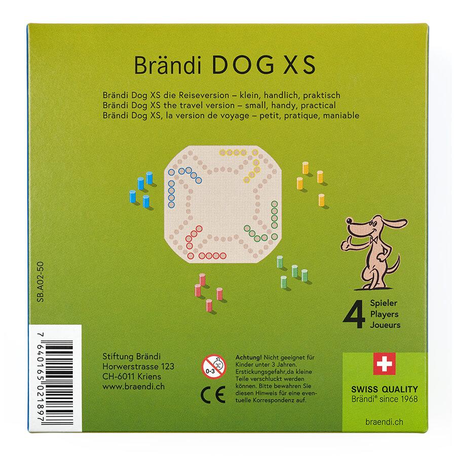 Schachtel Rückseite- Brändi Dog XS