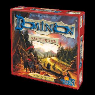 Schachtel Vorderseite- Dominion: Abenteuer