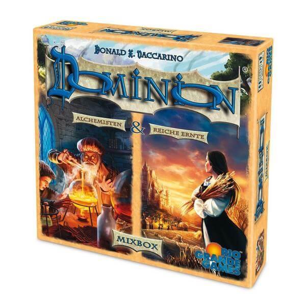 Schachtel Vorderseite- Dominion: Mixbox - Reiche Ernte + Alchemisten
