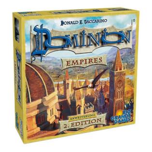 Schachtel Vorderseite- Dominion: Empires