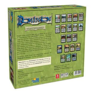 Schachtel Rückseite- Dominion: Hinterland
