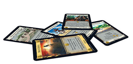 Spielmaterial- Dominion: Hinterland